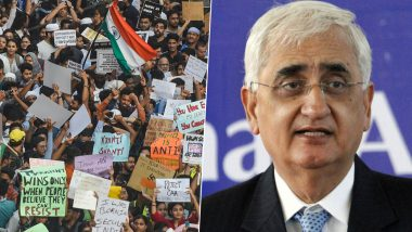 Shaheen Bagh Row: Salman Khurshid Welcomes Supreme Court's Decision of Appointing Mediators for Dialogue With Protesters