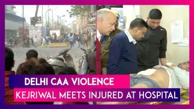Delhi Violence: CM Arvind Kejriwal Meets The Injured At GTB Hospital, Prays For Peace At Rajghat