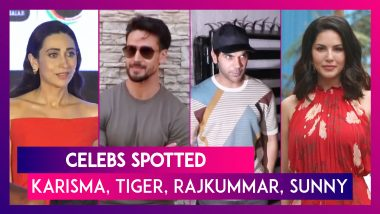 Karisma Kapoor, Tiger Shroff, Rajkummar Rao, Sunny Leone & Others Seen In The City I Celebs Spotted