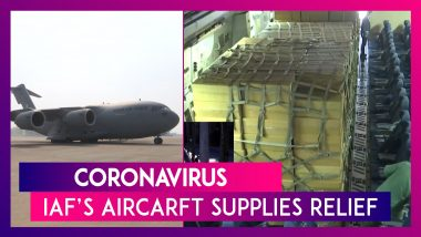 Coronavirus: IAF's C-17 Aircraft With Relief Supplies Flies Off To Wuhan, Brings Back 112 People