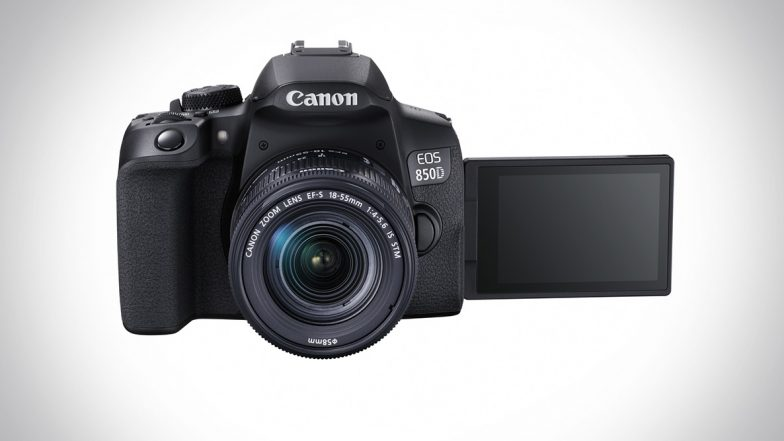 Canon EOS 850D Camera Featuring 4K Video Recording & Intelligent Tracking Launched in India