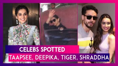 Taapsee Pannu, Deepika Padukone, Tiger Shroff, Shraddha Kapoor Seen In The City I Celebs Spotted