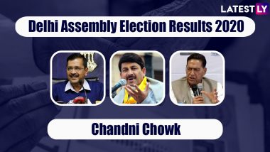 Delhi Assembly Elections 2020 Results From Chandni Chowk Updates: AAP Wins From All 10 Constituencies Including Matia Mahal, Ballimaran, Model Town and Others, Check Full List of Winners