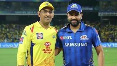 IPL 2021 Latest News Update: Mumbai Indians to Face Off Against Chennai Super Kings on September 19, Final on October 15