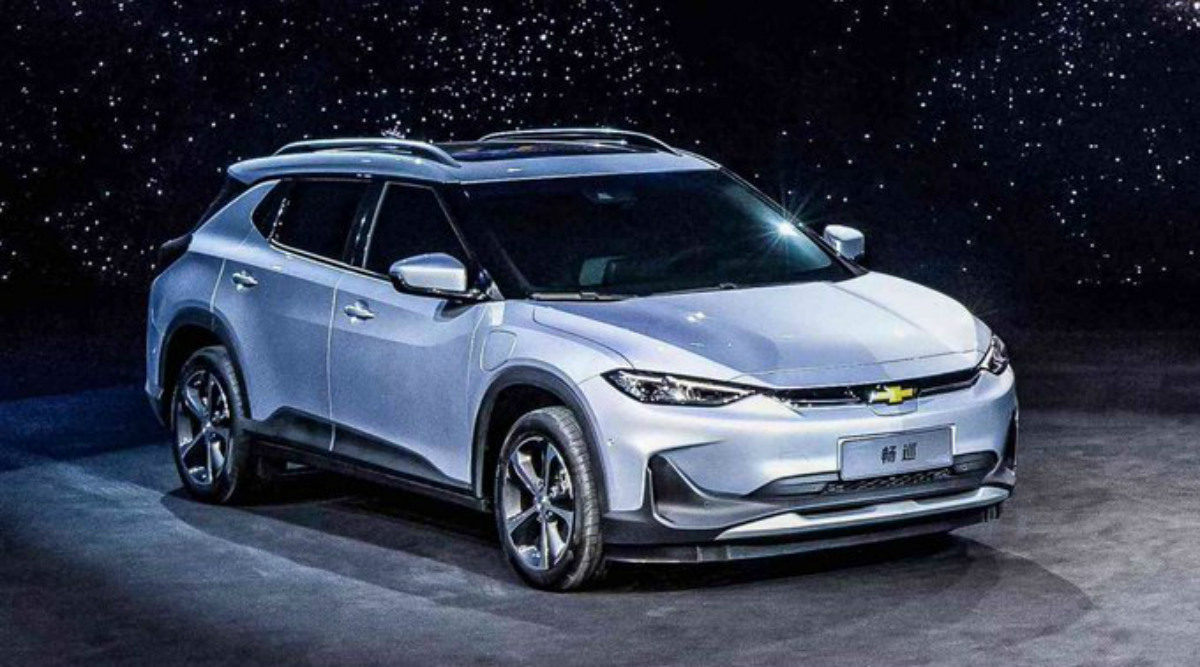 General Motors Launches New Electric Vehicle Chevrolet Menlo sedan in China