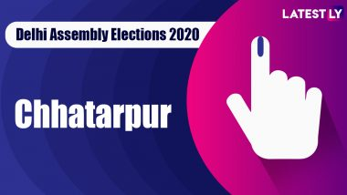 Chhatarpur Election Result 2020: AAP Candidate Kartar Singh Tanwar Declared Winner From Vidhan Sabha Seat in Delhi Assembly Polls