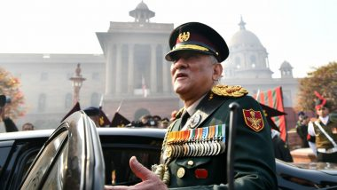 India Will Have Two to Five Theatre Commands by 2022: Chief of Defence Staff General Bipin Rawat