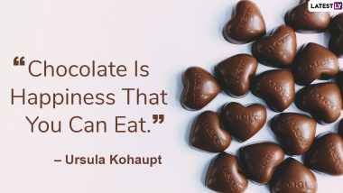 Chocolate Day 2020 Images With Quotes: Sweet Messages, Thoughts And GIF Images To Share With Your Loved One!