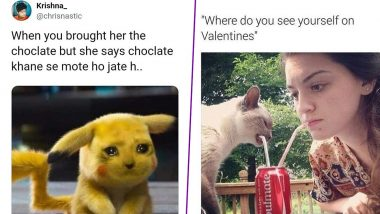 Valentines Day Funny Memes For Chocolate Day 2020: These Not-So-Sweet Jokes Are Not For Your Partner But For Your Forever Single Friend!