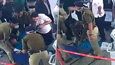 Kolkata Airport: Sub-Inspector Performs CPR on Unconscious Passenger, Saves His Life - Watch Video