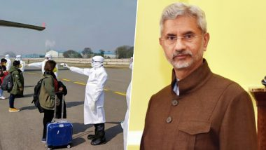 Coronavirus Outbreak in India: MEA S Jaishankar Updates Rajya Sabha on India's Position, Says 'Only 80 Indian Students Stranded in Wuhan'