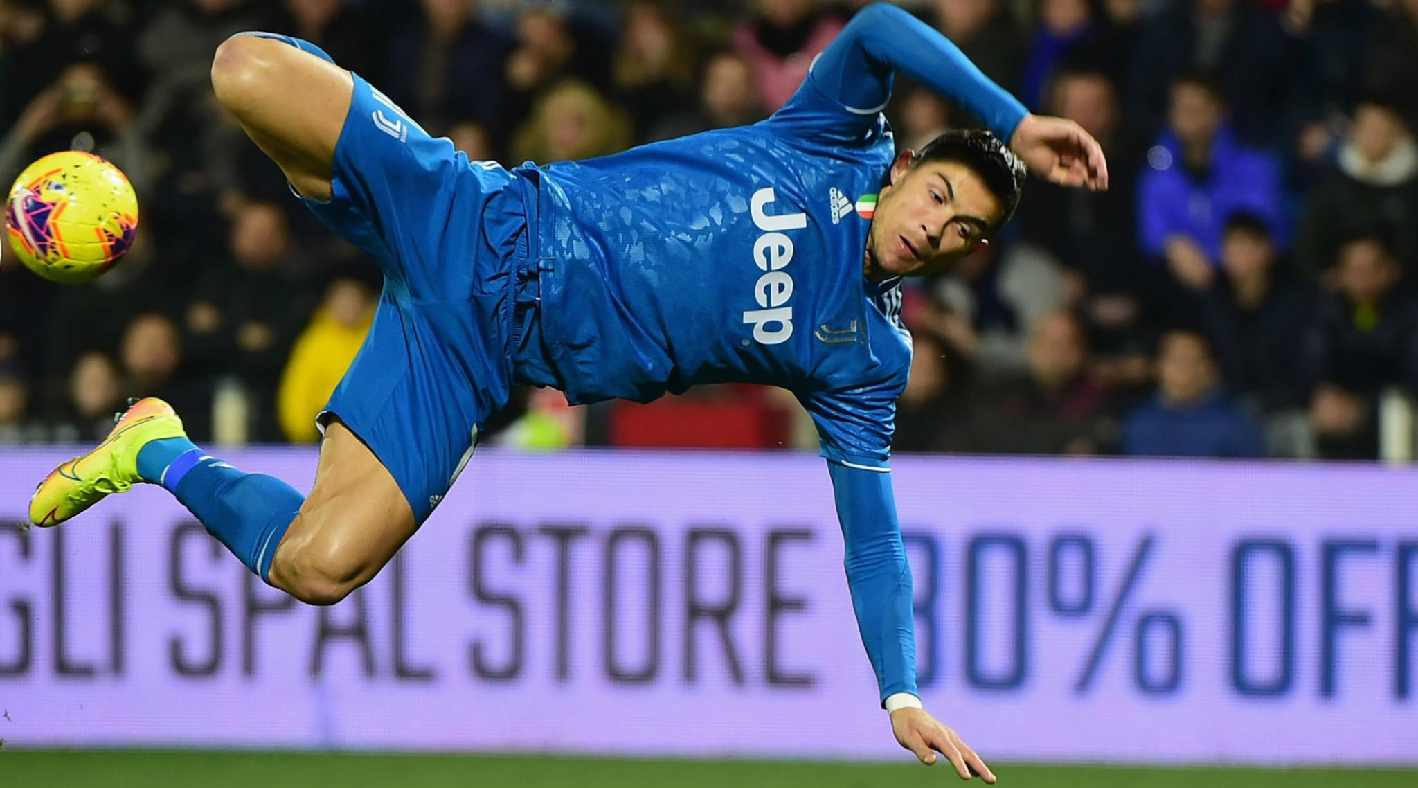 SPAL 1-2 Juventus, Serie A 2019-20: Cristiano Ronaldo Scores For 11th Consecutive Game As Bianconeri's Go Four Points Clear At the Top