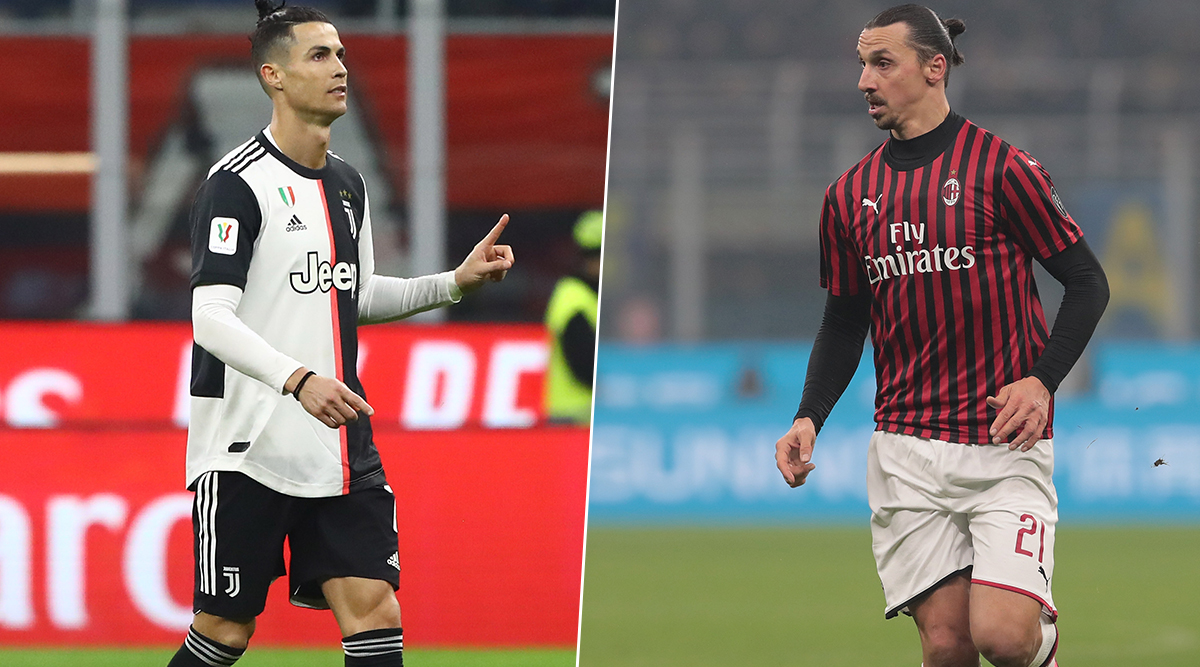 Cristiano Ronaldo Gets Better of Rival Zlatan Ibrahimovic With VAR Assistance As Juventus Hold AC Milan in Coppa Italia 2019–20 Semi-Final