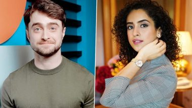 Sanya Malhotra Birthday: Harry Potter Star Daniel Radcliffe Wishes Dangal Actress and All The Potterheads Are Allowed To Be Jealous!