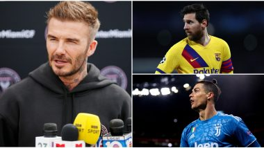 Lionel Messi & Cristiano Ronaldo Transfer Update: David Beckham Responds to Barcelona and Juventus Star's Link to Inter Miami, Says 'Options Open for Both'