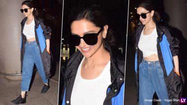 Deepika Padukone's Uber Chic Airport Style Is Worth Stealing! (View Pics)