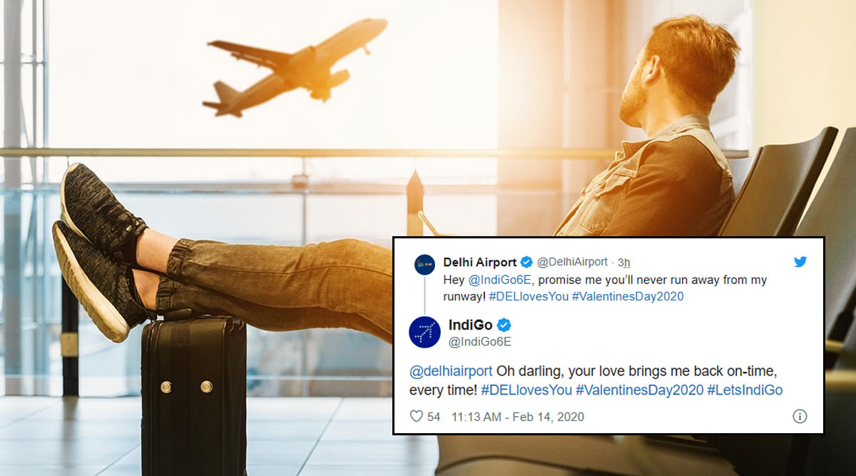 Delhi Airport Sends Love-Filled Messages to All Its Airlines on Valentine's Day 2020 and We Think the Hub Is a Keeper!