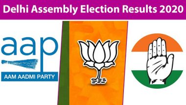 Delhi Assembly Election Results 2020 Winners List Live Updates