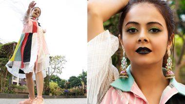Bigg Boss 13 Contestant Devoleena Bhattacharjee's Bold Fashion Move Is Modern and Kick-Ass (View Pics)