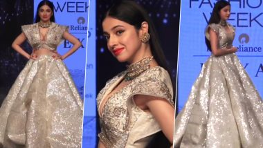 Lakme Fashion Week 2020 Summer/Resort: Divya Khosla Kumar Saves Herself From a Wardrobe Malfunction on the Ramp (Watch Video)