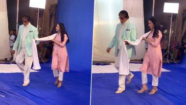 Divyanka Tripathi Strikes A 'Big Deal' With 'Big B' Amitabh Bachchan (Watch Video)