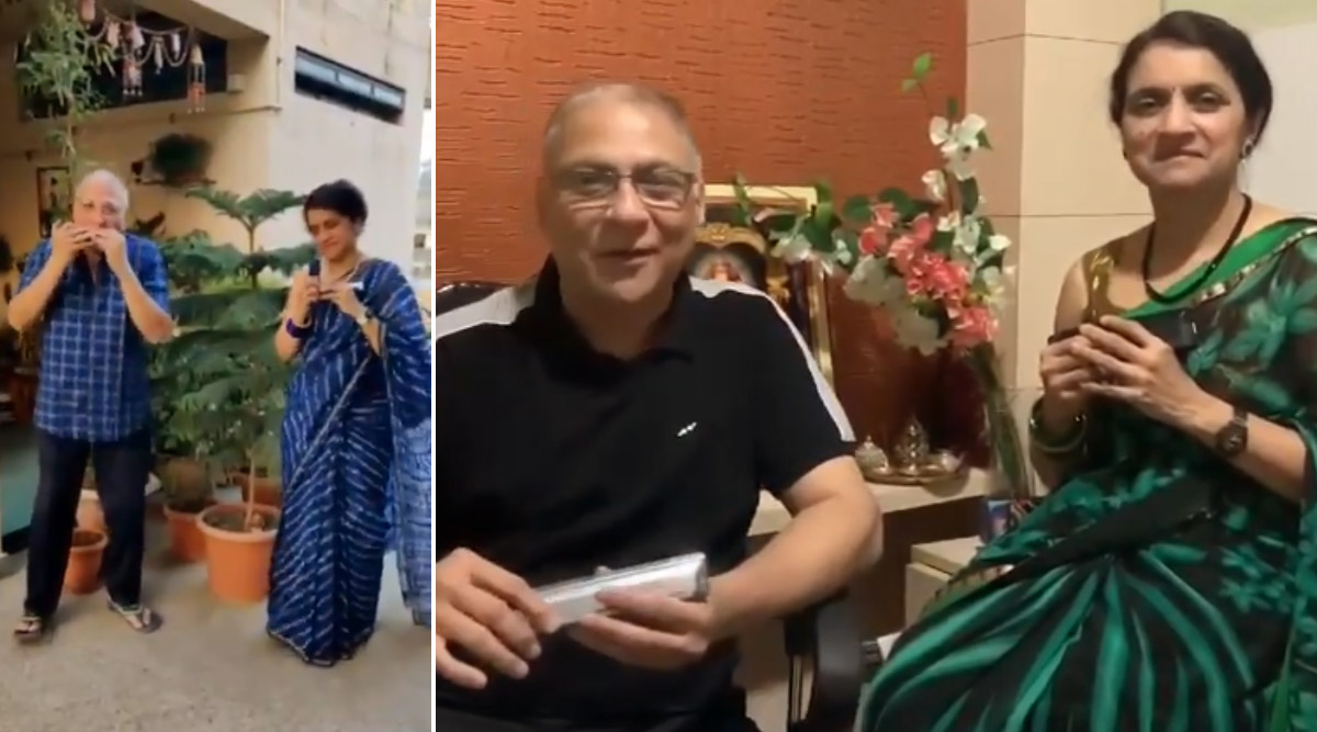 Doctor Couple From Bhusawal, Ashutosh Kelkar And Sujata Kelkar Playing Harmonica Delights Netizens, Videos Go Viral