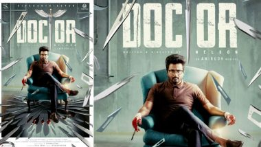 Doctor First Look: Sivakarthikeyan's Bloodied Hands Will Make You Curious for This Film! (View Pic)