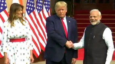 Donald Trump in India, Day 2 Live News Updates: First Lady Melania Interacts With Students at  Sarvodaya Co-Ed Senior Secondary School; View Pics