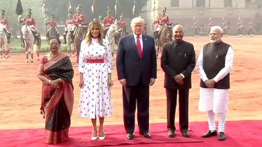 Donald Trump in India, Day 2 Live News Updates: US President Arrives At Hyderabad House, To Hold Talks With PM Narendra Modi