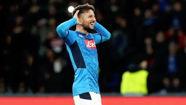 Dries Mertens Scores Wonder Goal Against Barcelona, Equals Marek Hamsik's Record As Napoli's All-Time Top Scorer (Watch Video)