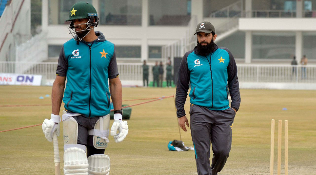 Bangladesh check security at Pakistan stadium before test