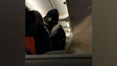 Man Gets Kicked Out of American Airlines Flight From Dallas to Huston for Wearing a Gas Mask