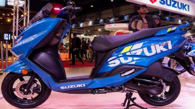 Burgman Street Launched: Suzuki Motorcycle India Launches BS-VI Compliant 125 CC Scooter Priced at Rs 77,900