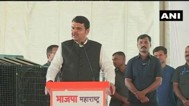 BJP Leader Devendra Fadnavis Challenges Shiv Sena to Contest Elections in Maharashtra Again, Says Will Defeat Ruling Alliance