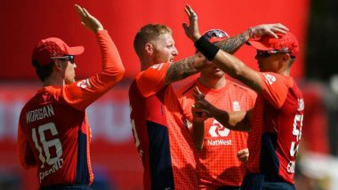 SA vs ENG 3rd T20I 2020 Match Result: Eoin Morgan Smashes 22-Ball 57 as England Win Series 2-1 vs South Africa