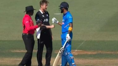 ICC's Hilarious Response to KL Rahul-Jimmy Neesham Banter, Says Team Can Play Rock, Paper, Scissors Instead of Super Over