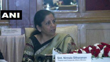 COVID-19: Government Closely Monitoring Coronavirus Impact on Economy, Says FM Nirmala Sitharaman