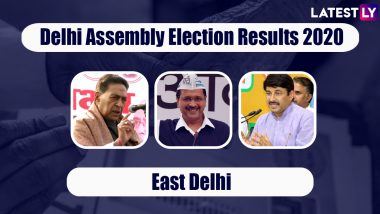 Delhi Assembly Elections 2020 Results From East Delhi Updates: AAP Wins Okhla, Patparganj, Trilokpuri & Other Seats