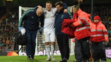 Levante 1-0 Real Madrid, La Liga 2019-20: Eden Hazard Injured Once Again As Los Blancos Lose Top Spot to Barcelona