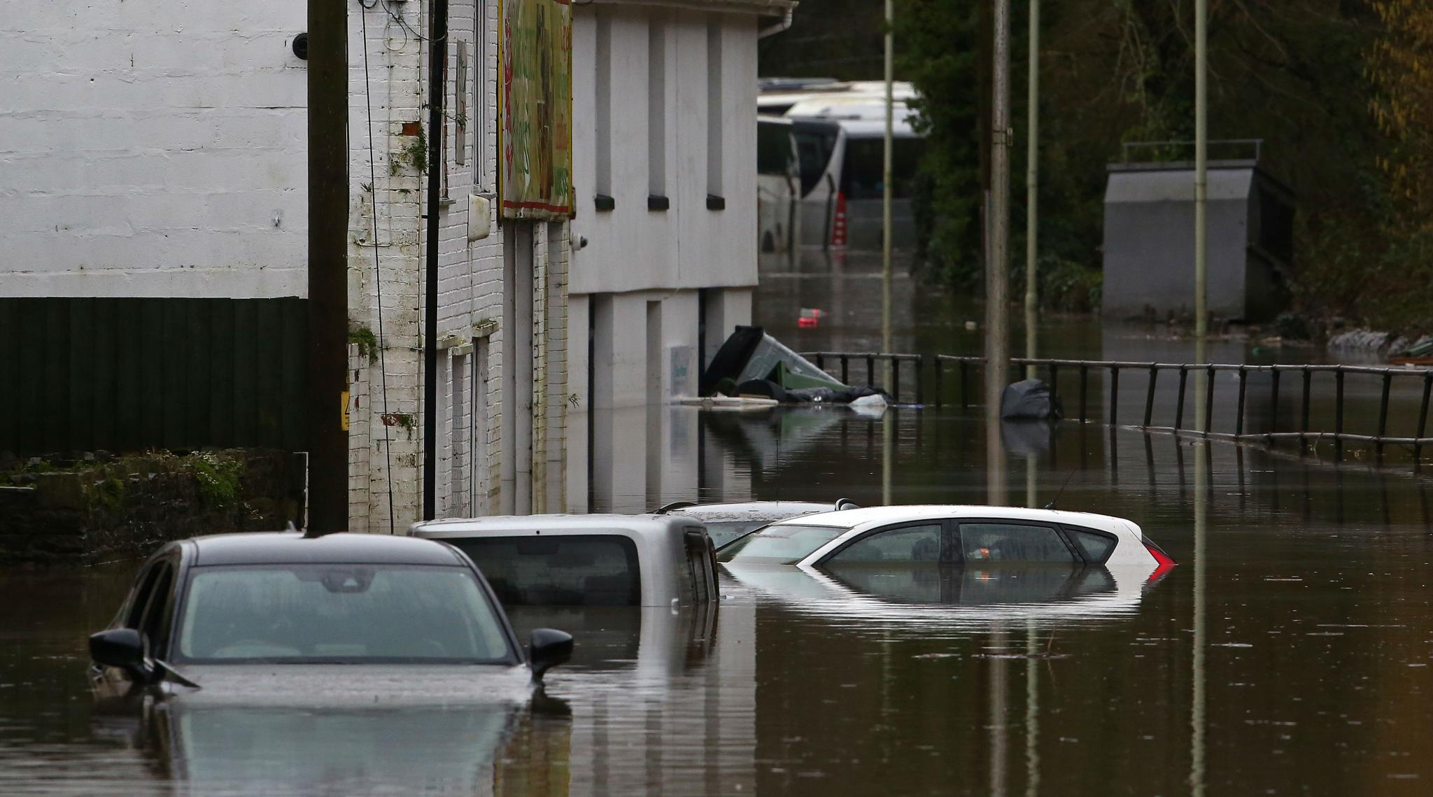 Storm Dennis: UK Issues Rare 'Danger to Life' Warning Over Heavy Flooding and High Winds