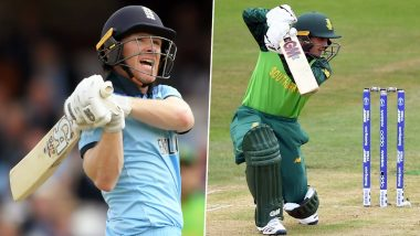 Cricket Week Recap: From Eoin Morgan's Match-Winning Knock to Quinton de Kock's Clinical Display, A Look at Finest Individual Performances