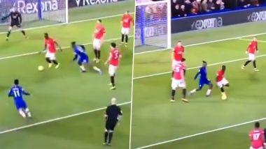 Manchester United Defender Eric Bailly Produces Sumptuous Skill Inside the Penalty Box Against Chelsea (Watch Video)