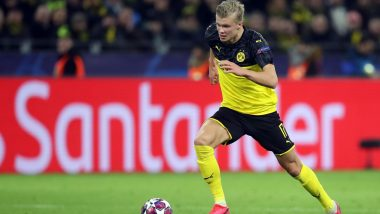 Borussia Dortmund Starlet Erling Braut Haaland's Beats Cristiano Ronaldo and Lionel Messi to Reach 40 Goal For the Season