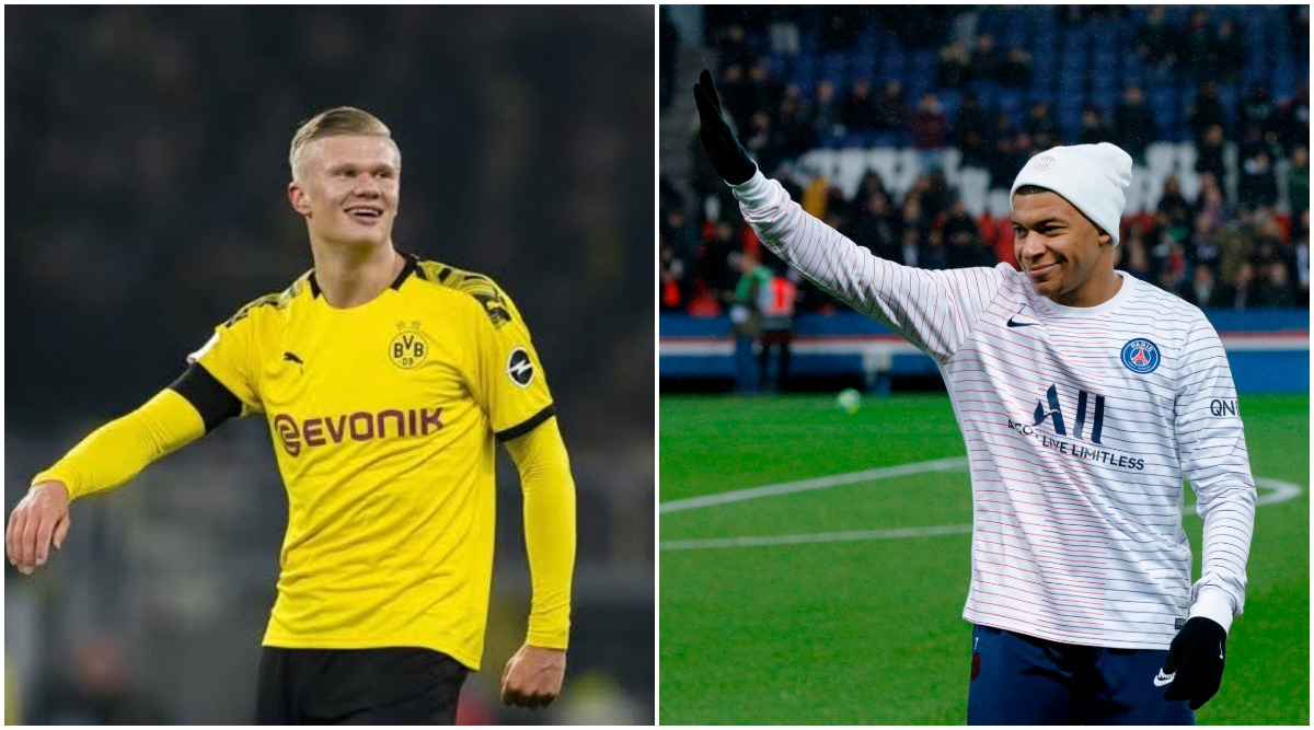 Erling Haaland vs Kylian Mbappe the Next Cristiano Ronaldo vs Lionel Messi? Fans Believe These Teenage Sensations Could Become Football's Future Messi-Ronaldo