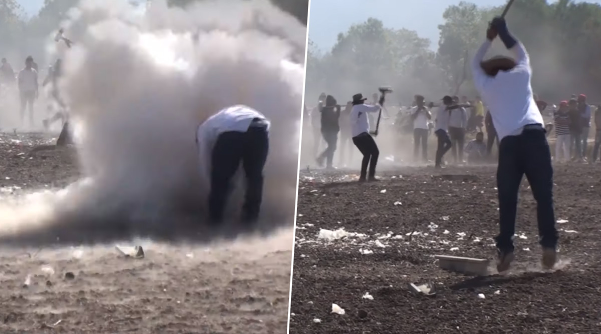 'Exploding Hammer' Festival in Mexico Injures 43, Watch Video of This Dangerous Annual Celebrations