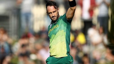 South Africa's Squad for India ODI Series Announced, Faf du Plessis Returns