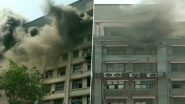 Mumbai: Fire Erupts at GST Bhavan in Mazgaon, Operation Underway to Douse Blaze