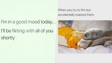 Flirting Day 2020 Funny Memes: These Jokes on Your Flirting Abilities Are Best to Convey Your Feelings During Anti-Valentine Week