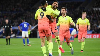 Leicester City 0-1 Manchester City, Premier League 2019-20: Late Gabriel Jesus Penalty Gives Pep Guardiola's Men Crucial Win Over Foxes