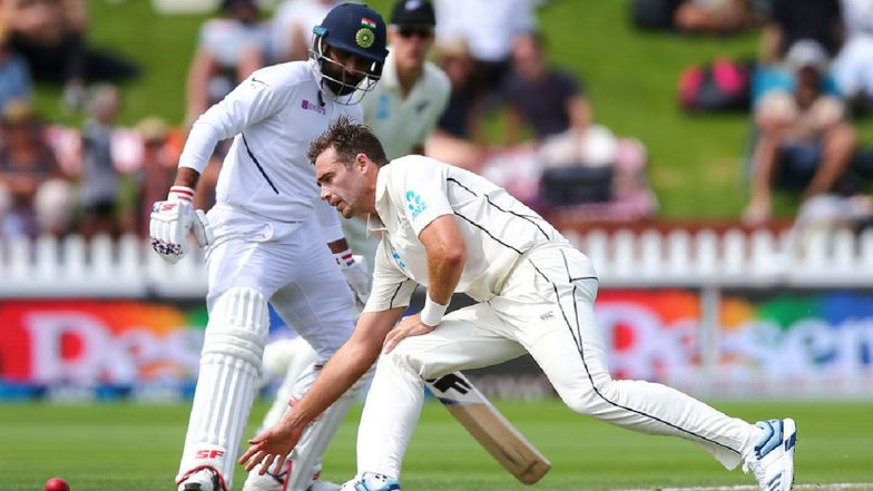 India vs New Zealand 1st Test 2020: Rishabh Pant's Run-Out Was a Big Play in Morning, Says Tim Southee
